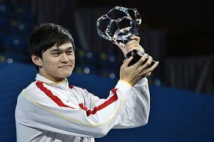 孙杨荣膺世锦赛最佳男运动员16岁少女力压六金王