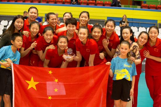 年轻的中国女排