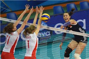 女排世锦赛中国3-0比利时连演逆转好戏赢三连胜