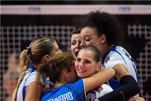 女排世锦赛意大利连胜头名进四强半决赛再战中国