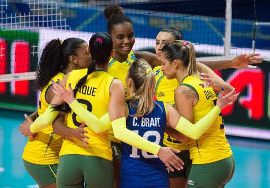 冠军热门巴西女排势不可挡