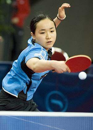 日本14岁女将伊藤美诚