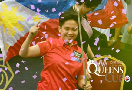 菲律宾女球王艾米特