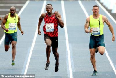 博尔特里约百米赛夺冠 盼在此实现奥运三连冠
