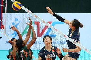 女排亚锦赛中国3-0横扫印度郎平率队首秀闯关
