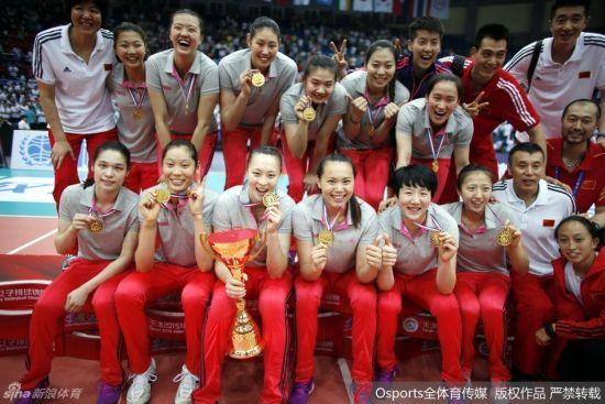 国家女排夺冠
