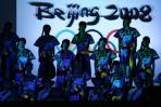 图文-北京奥运火炬发布晚会现场 浓郁少数民族风情