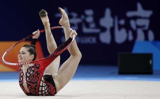 图文-好运北京艺术体操国际邀请赛好看的圈操表演