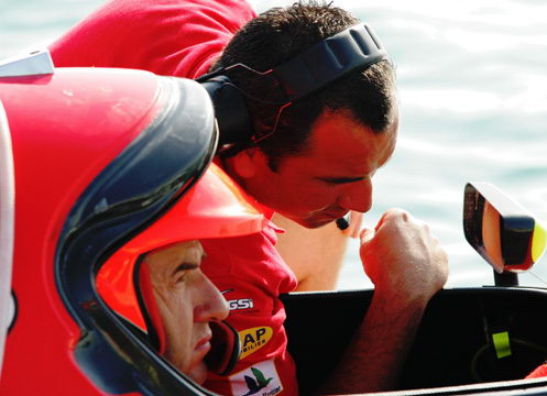 图文-F1摩托艇阿布扎比站视点聚焦第一现场