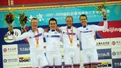 图文-自行车世界杯精彩赛况英国的帅哥喜夺桂冠