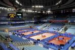 图文-北京大学体育馆正式启用 座席舒适观赛更享受