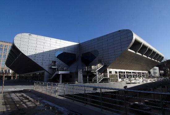 图文-北京奥运会举重馆改建完成 采用外星飞碟造型