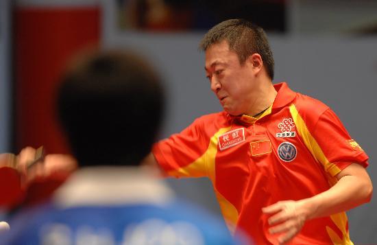 图文-乒乓球世界总冠军赛马琳晋级马琳势不可挡