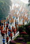 图文-2008厦门国际马拉松战报参赛选手如此多