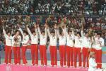 图文-中国历届夏季奥运会金牌得主 女排历史一刻