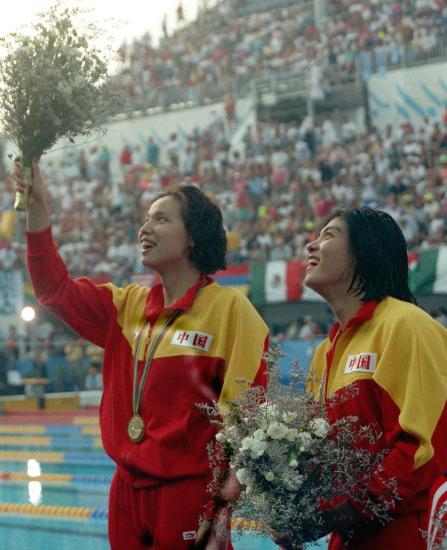 图文-中国历届夏季奥运会金牌得主 巴塞罗那杨文意