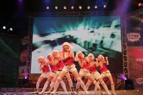 女子街舞大赛街舞女孩照片女生街舞街舞大赛