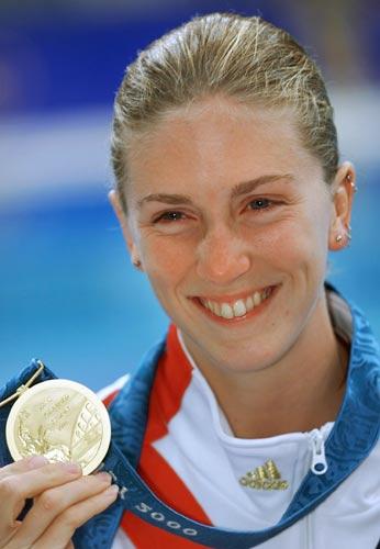 图文-跳水女子10米台奥运冠军威尔金森悉尼夺冠