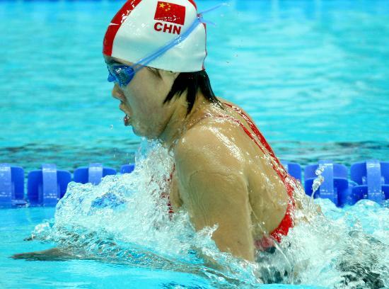图文-奥运游泳测试赛5日赛况 丁梦琪混合泳获亚军
