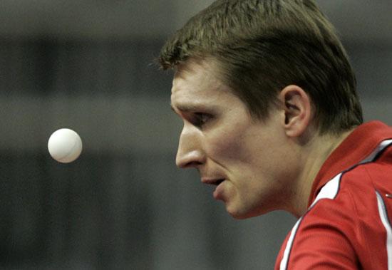 图文-世乒赛男团奥地利3-0意大利 施拉格回勇