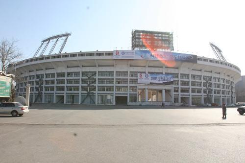 图文-北京工人体育场改建工程完工 崭新外观亮相