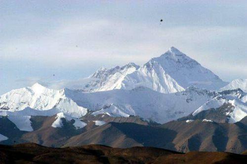 图文-雄伟壮丽的珠穆朗玛峰 世界第三极的气魄