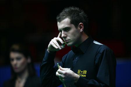 图文-中国赛半决赛墨菲VS塞尔比这个局面让人头疼