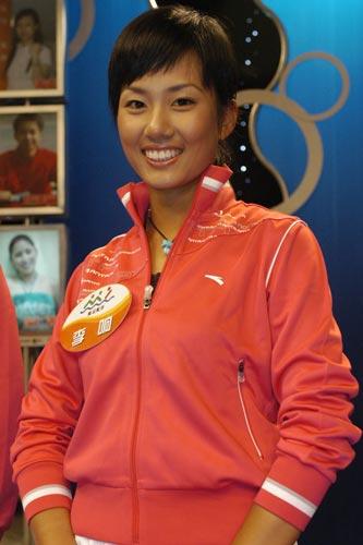 图文-奥运舵手选拔女子组决赛李响笑容依旧灿烂