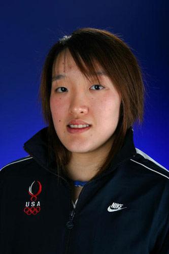 图文-美国奥运代表团成员写真羽球华裔选手李忆恒