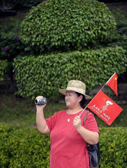 图文-北京奥运圣火在吉隆坡传递 记录感动瞬间