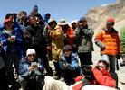 图文-受邀中外记者赴珠峰大本营采访 颇受媒体关注