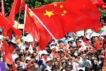图文-北京奥运圣火深圳站传递 深圳人的特殊节日