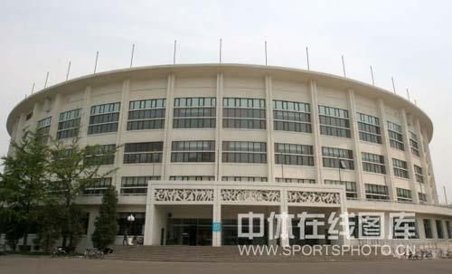 图文-北京工人体育馆改扩建完毕 曾经的十大建筑
