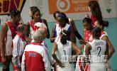 图文-瑞士女排精英赛意大利2-3古巴 古巴众志成城
