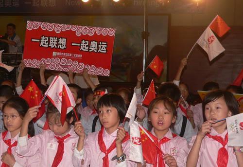 图文-联想火炬接力重庆站新闻发布会 感恩的心