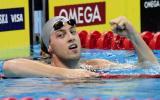 图文-美国奥运游泳选拔赛第4日盖尔刷新全国纪录