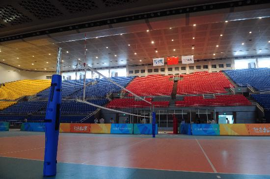 图文-奥运场馆巡礼之首都体育馆 赛场达到国际标准