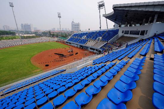 图文-丰台垒球场内景 大气婉约颇有国际水准