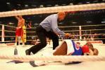 图文-克利琴科卫冕重量级拳王称号将对手击倒在地