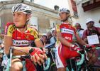 图文-环法自行车赛结束第11赛段车手难得获得休息