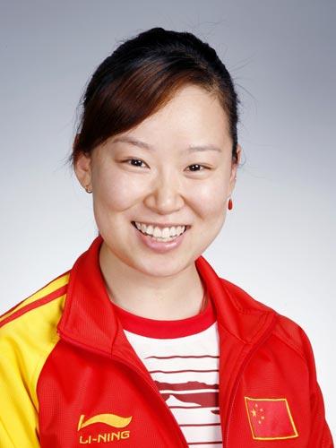 图文-北京奥运会中国代表团成立 射击队队员武柳希