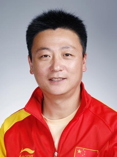 图文-北京奥运会中国代表团成立 射击队队员曲日东