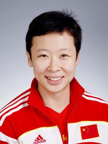 图文-北京奥运会中国代表团成立女排队员冯坤