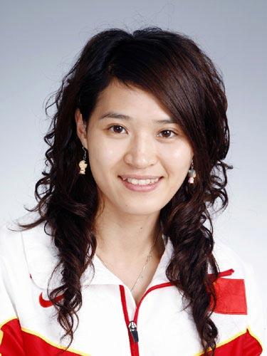 图文-北京奥运会中国代表团成立田径队队员汤晓茵