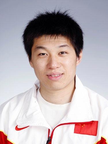 图文-北京奥运会中国代表团成立田径队队员李延熙