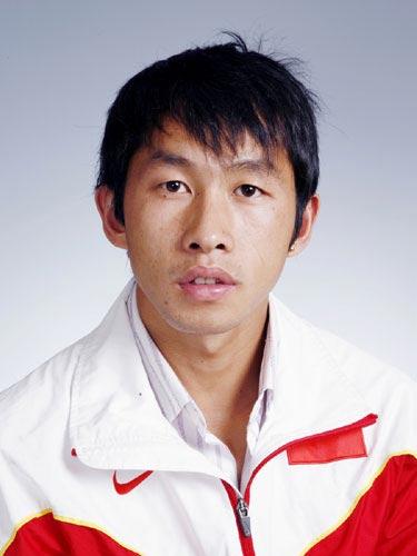 图文-北京奥运会中国代表团成立 田径队队员邓海洋