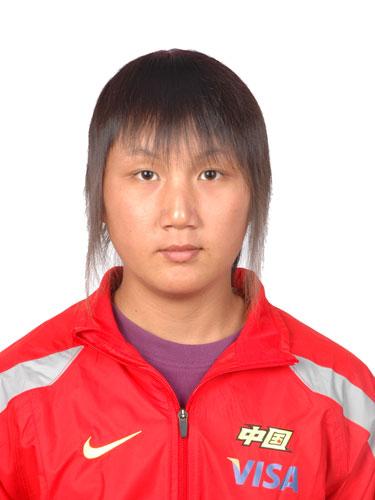 图文-北京奥运会中国代表团成立 皮划艇队员梁培兴