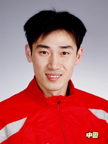 图文-北京奥运会中国代表团成立手球队队员苗青