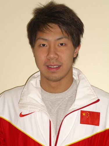 图文-北京奥运会中国代表团成立 游泳队队员辛同