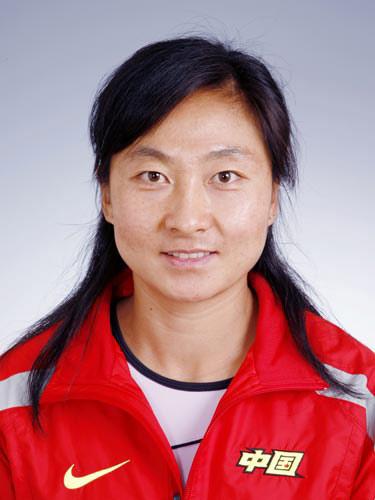 图文-北京奥运会中国代表团成立 女曲队员李爱莉